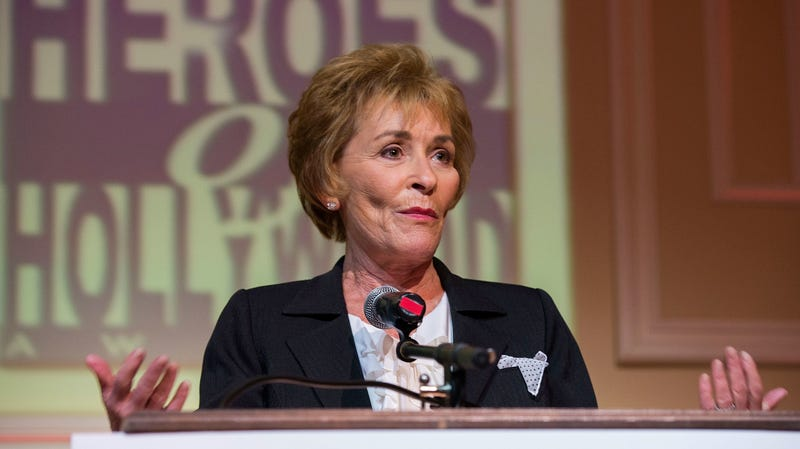 Illustration for article titled At Long Last, Judge Judy Will Get Her Lifetime Achievement Award