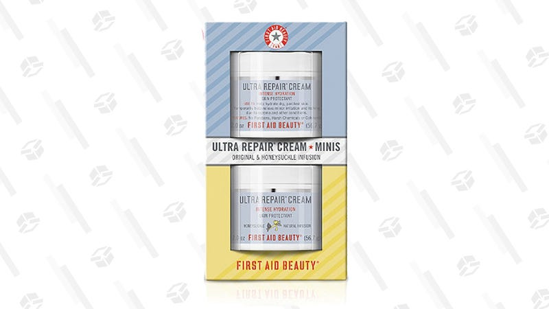 First Aid Beauty Ultra Repair Cream Minis, Original and Honeysuckle | $10 | Ulta