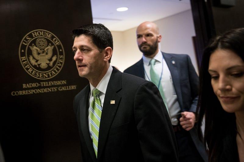 Speaker of the House Paul Ryan, left (Getty Images/Angerer)