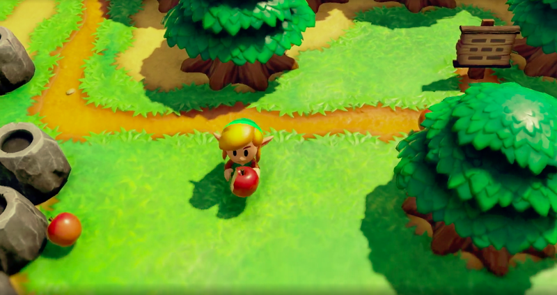 Links Awakening Remake Is Out September Has A New Dungeon Building