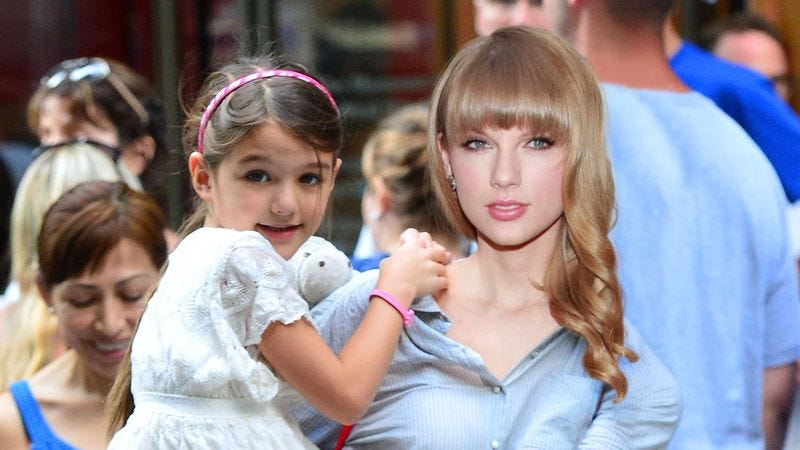 Illustration for article titled Taylor Swift Now Dating Suri Cruise