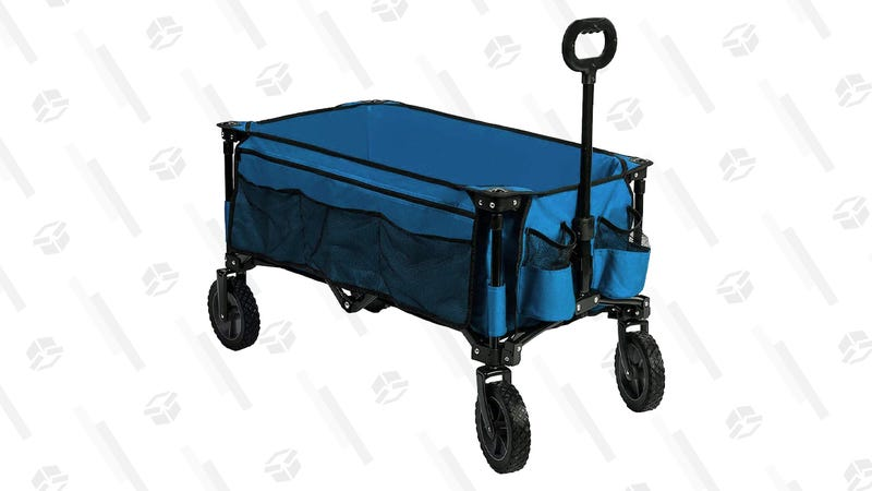 Timber Ridge Camping Wagon | $75 | Amazon | Clip coupon on page Timber Ridge Folding Camping Wagon | $110 | Amazon | Clip coupon on page