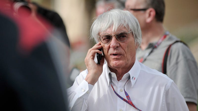 Illustration for article titled Bernie Ecclestone Might Actually Have A Heart, Doesn't Want Nürburgring To Die