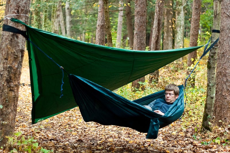 Image result for Ways to Sleep Outside Without a Tent