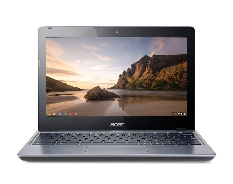 Illustration for article titled La familia de portátiles Chromebook crece: llega el Acer C720