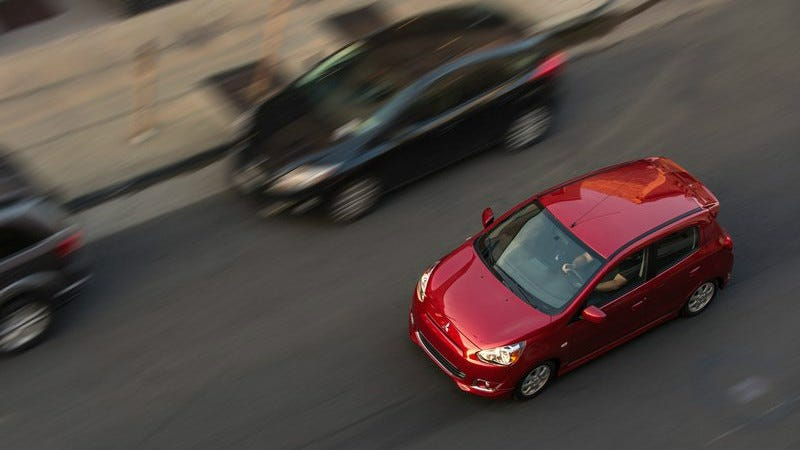Illustration for article titled The Mitsubishi Mirage Outsold The Volkswagen GTI In February