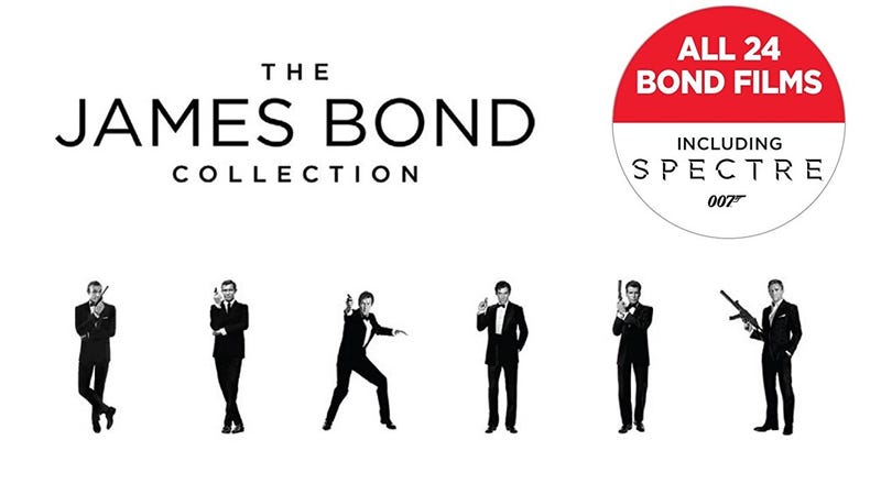 The James Bond Collection, $75