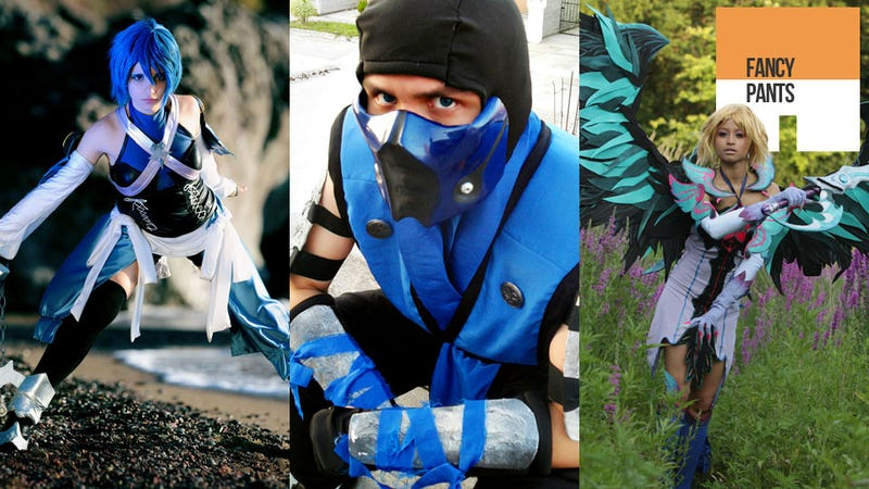 Illustration for article titled This Week's Cosplay Round-up Is All Men, Women & Animals