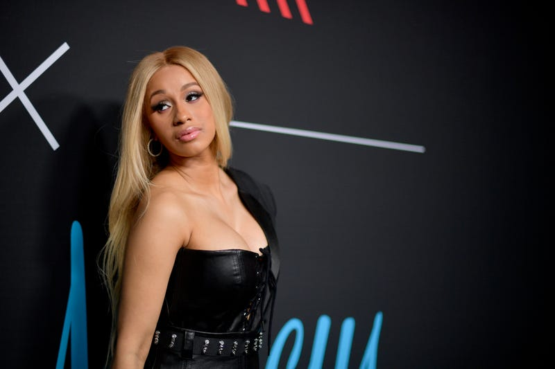 Cardi B attends the 2018 GQ x Neiman Marcus All Star Party at Nomad Los Angeles on Feb. 17, 2018, in Los Angeles.