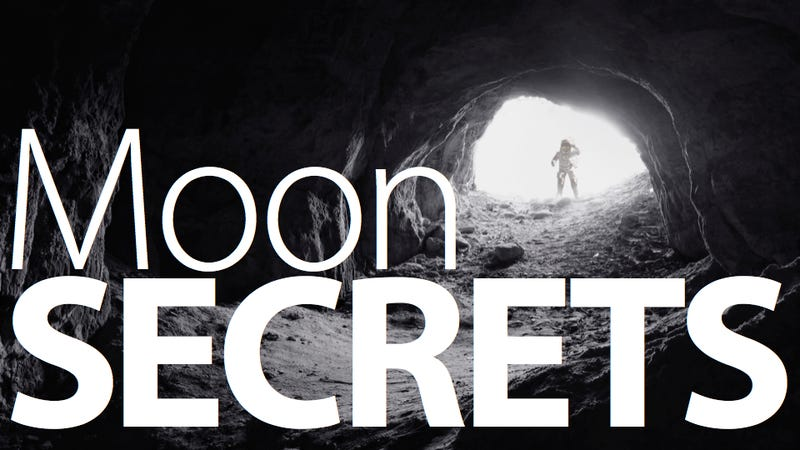 Illustration for article titled Giant Underground Chamber Discovered On the Moon