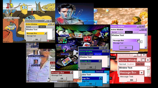 Somebody Is Furiously Uploading  90s Windows Desktop Themes to the Internet Archive