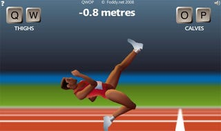 Illustration for article titled QWOP: Why Rag Dolls Will Never Take Home The Gold