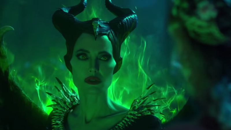 Illustration for article titled Angelina Jolie's Horns and Cheekbones Are Back for Maleficent: Mistress of Evil