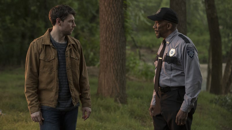 Patrick Fugit and Reg E. Cathey