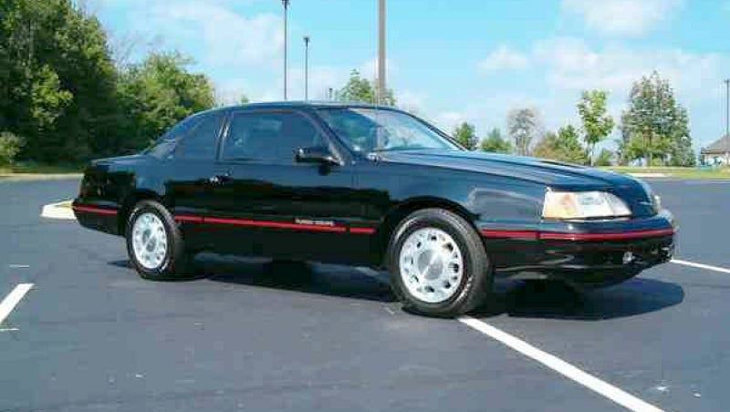 Illustration for article titled For $9,000, Is This 1987 Thunderbird Turbo Coupe Your Deal Of The Day?