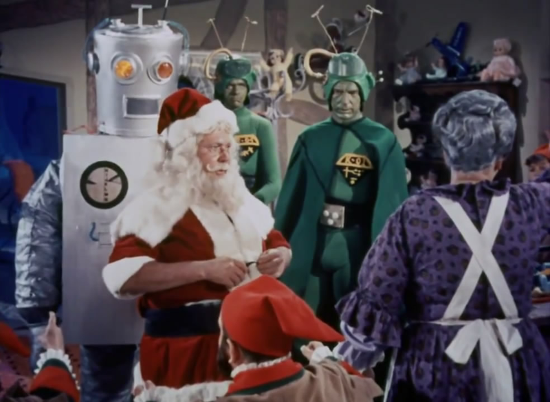 Illustration for article titled Weekend Matinee:Santa Claus Conquers The Martians