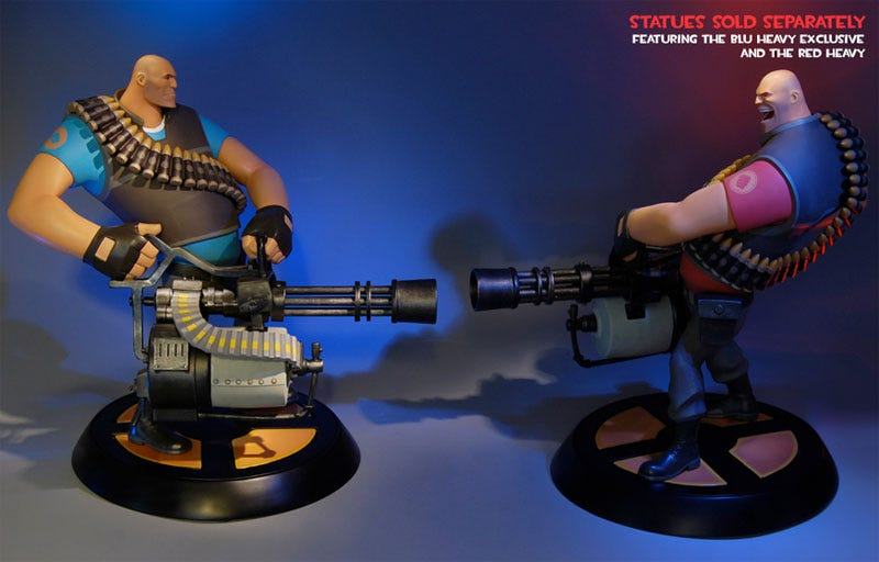 Illustration for article titled First Team Fortress Collectibles Up For Sale, Brace For Sticker Shock