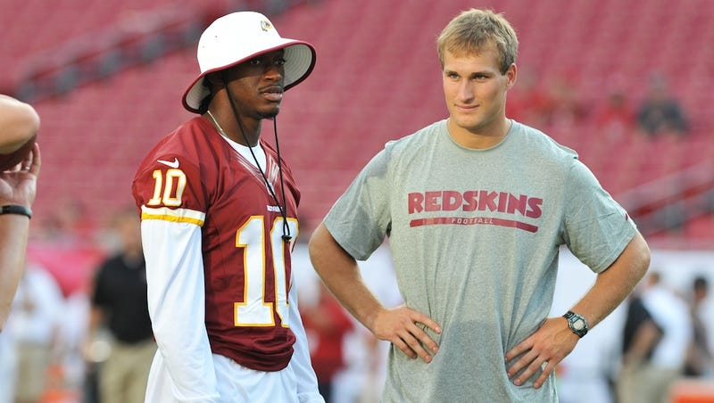 Illustration for article titled Yup, Some Redskins Fans Are Calling For Kirk Cousins To Start