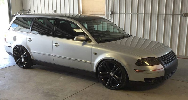 for 12 000 is this 2003 vw passat w8 wagon a dope ride. Black Bedroom Furniture Sets. Home Design Ideas