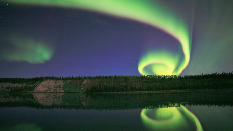 Illustration for article titled This Beautiful Aurora Is One Spiral in the Sky That Isn't Out to Get You