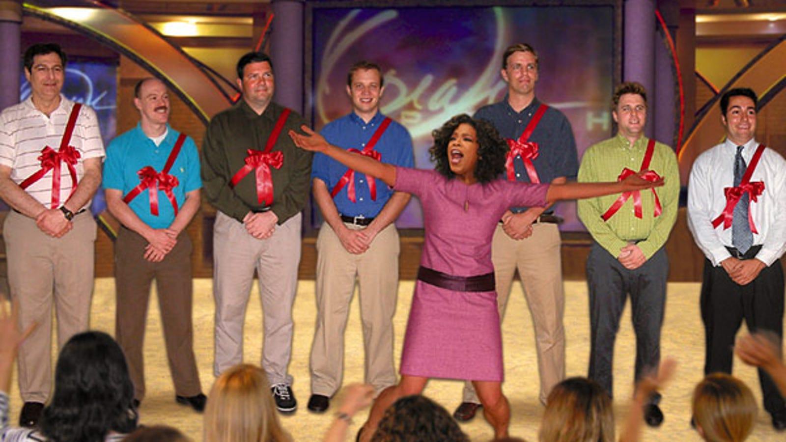 Oprah s last show giveaways