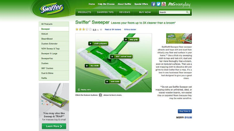 Illustration for article titled Swiffer Your Way to a Hot Bod With Tracy Anderson and Gwyneth Paltrow