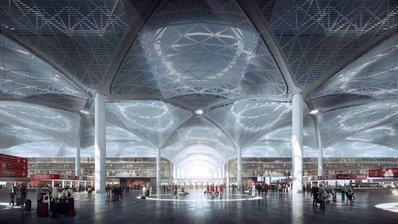 La terminal de aeropuerto más grande del mundo estará en Estambul