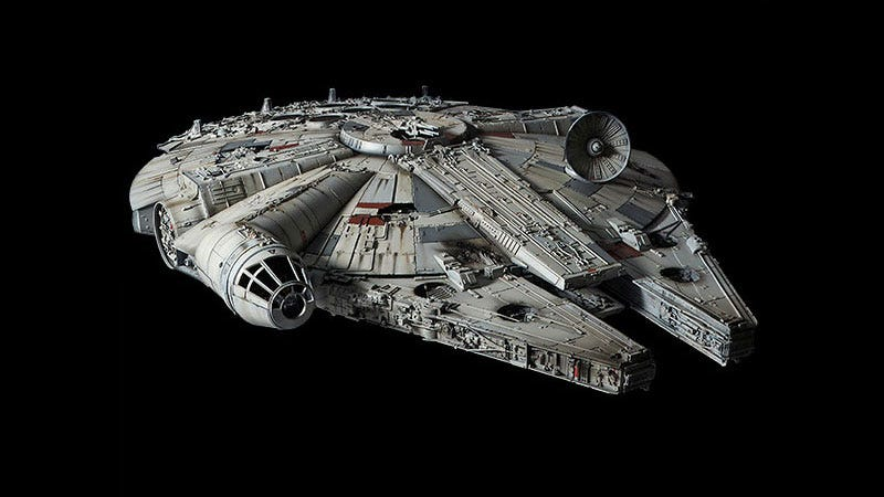 Illustration for article titled $380 Millennium Falcon May As Well Be In The Movies