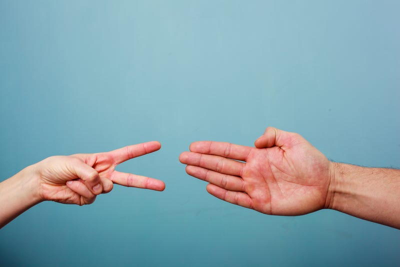 Illustration for article titled Use These Tips And Never Lose At Rock Paper Scissors Again