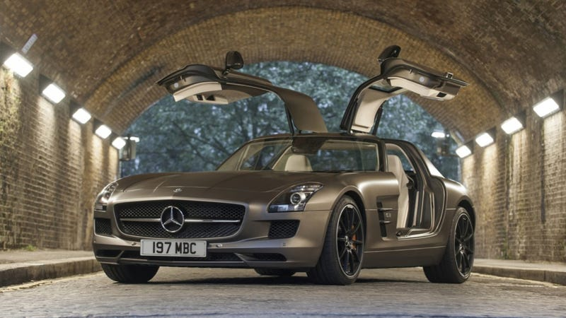 Illustration for article titled It's The End Of The Road For The Mercedes SLS AMG