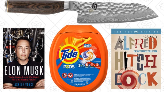 Sunday's Best Deals: Kindle Biographies, Alfred Hitchcock, PS4 Media Remote