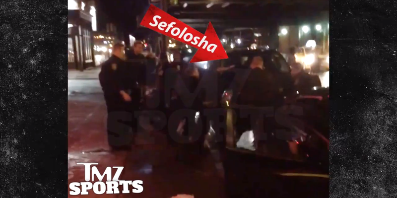 Illustration for article titled Video: Cops Throw Thabo Sefolosha To The Ground And Arrest Him