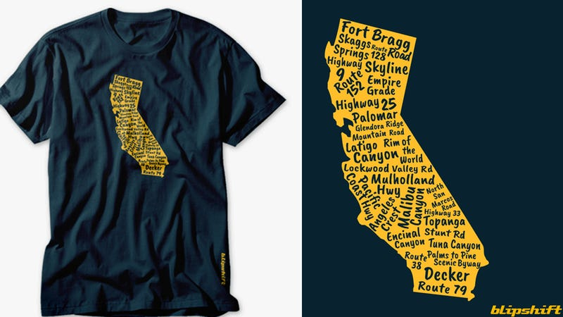 Illustration for article titled Buy Blipshift's New Shirt And Support California's Firefighters