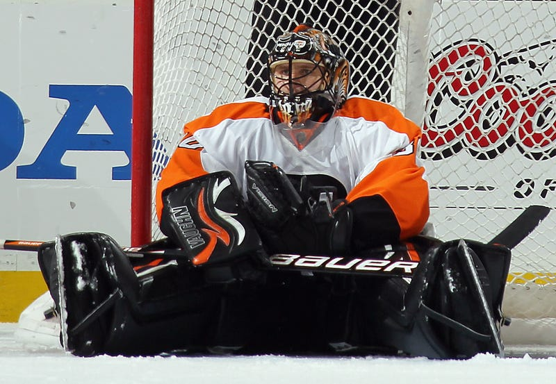"""Illustration for article titled """"Stats Not Always Reflect What's Real,"""" Says Beleaguered Goalie-Poet Ilya Bryzgalov"""