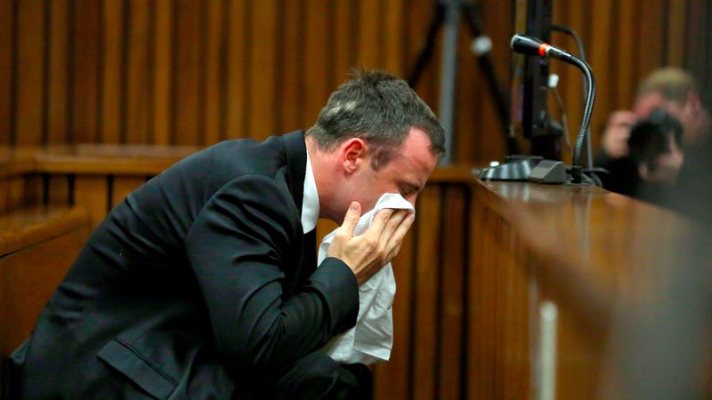 Illustration for article titled Oscar Pistorius Takes Stand to Apologize to Reeva Steenkamp's Family