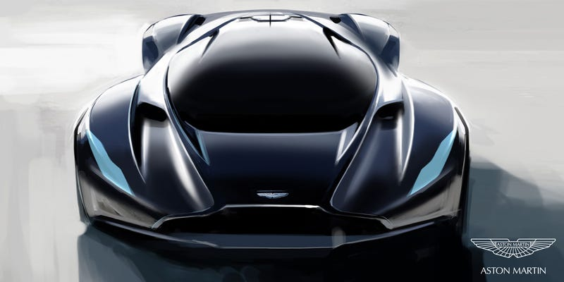Illustration for article titled The next Aston Martin Vanquish should be a mid engine sports car