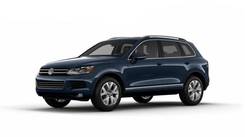 Illustration for article titled Touareg X Special Edition Celebrates 10 Years Of Volkswagen's Mid-Size Luxury SUV