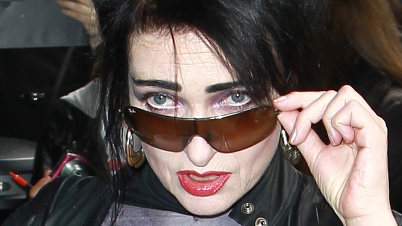 Siouxsie Sioux in London, 2012.