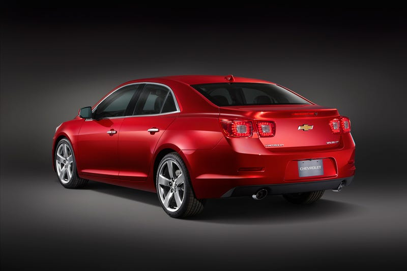 Illustration for article titled The 2013 Chevy Malibu has a really nice ass