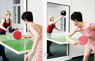 Illustration for article titled Door Transcends Door to Become Ping-Pong Table