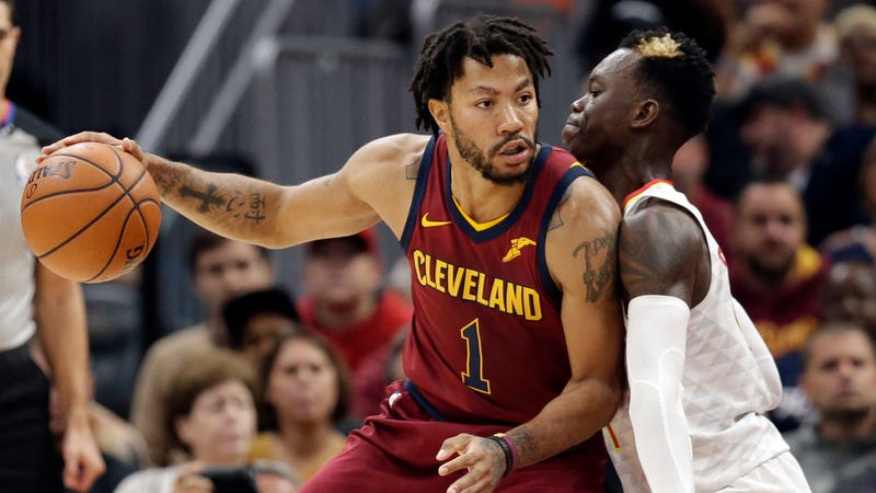 Derrick Rose leaves Cavaliers to handle