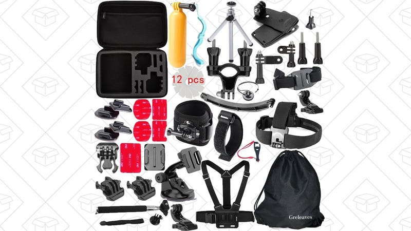50-Piece GoPro Accessory Kit, $18 with code MCHUBEGS