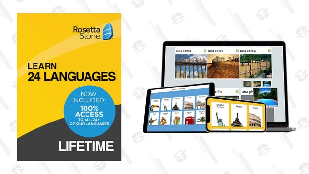 Learn 24 New Languages for $85 With a Rosetta Stone License