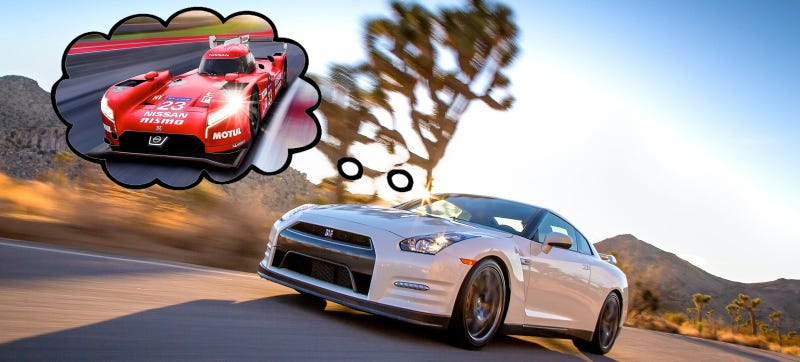 Illustration for article titled The Next Nissan GT-R Will Use The Nismo Le Mans Racer's Hybrid Engine