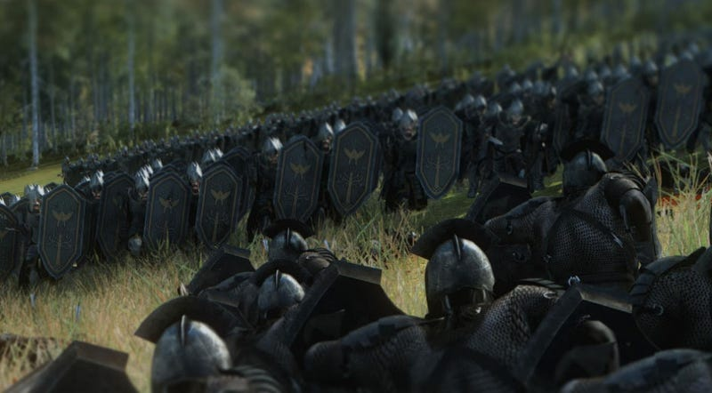 Illustration for article titled Lord Of The Rings Returns To Total War With Impressive New Mod