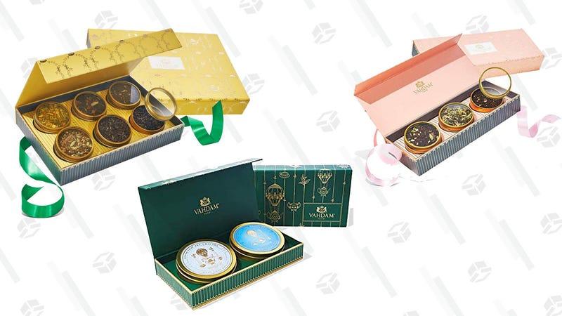 Gold Box del té favorito de Oprah   AmazonGráfico: Chelsea Stone