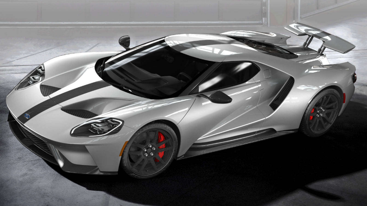 The Ford Gt Competition Series Dumps The Weight To Terrify Every  Gt Rs Owner