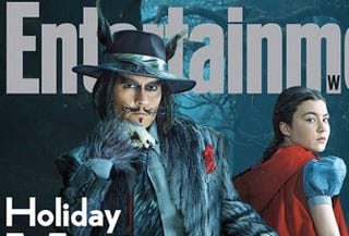 Illustration for article titled Johnny Depp's Big Bad Wolf From Disney's Into The Woods Is Just Bad
