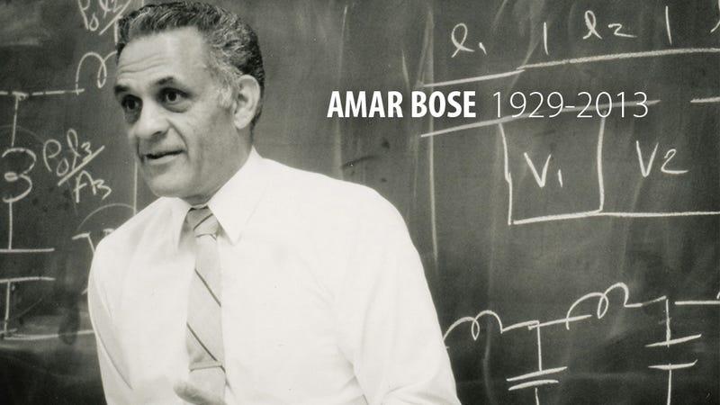Illustration for article titled Fallece Amar Bose, pionero de los sistemas de audio e inventor