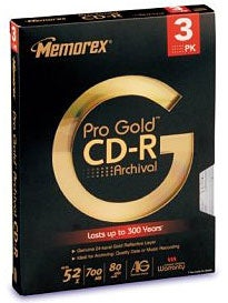 Illustration for article titled Back to the Future: Memorex Pro Gold Archival CD-R